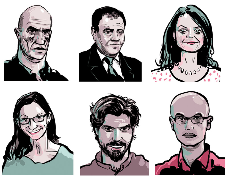 Writers-portraits