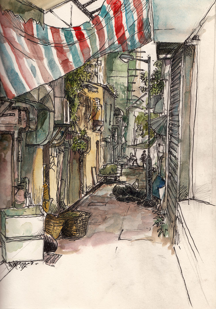 40th-sketchcrawl-alley